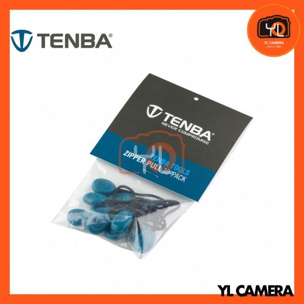 Tenba Tools Zipper Pulls, Pack of 10 (Blue)