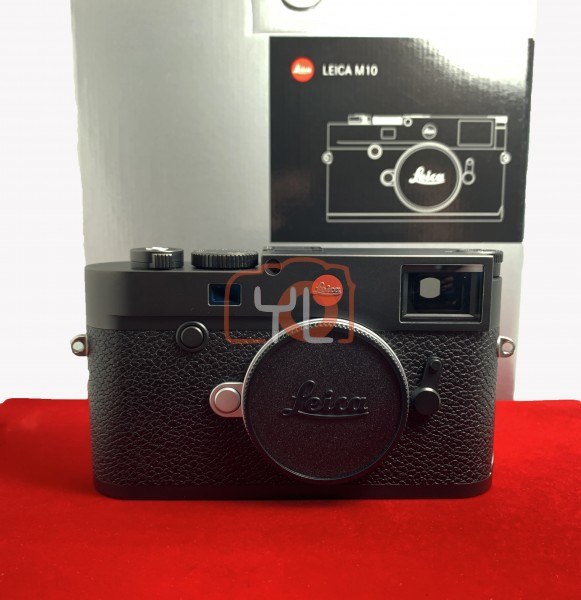 [USED-PJ33] Leica M10 Body (Black), 95% Like New Condition (S/N:5197713)