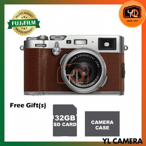 Fujifilm X100F (Brown) [Free 32GB SD Card]