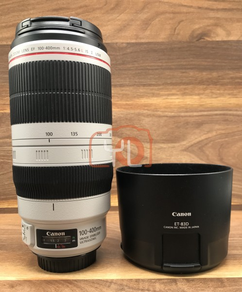 [USED-PJ33] Canon EF 100-400mm F/4.5-5.6 L IS II USM Lens,95% Condition Like New, (S/N:4610004860)