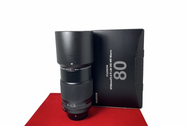 [USED-PJ33]  Fujifilm 80MM F2.8 R XF LM OIS Macro , 95% Like New Condition (S/N:78A06367)