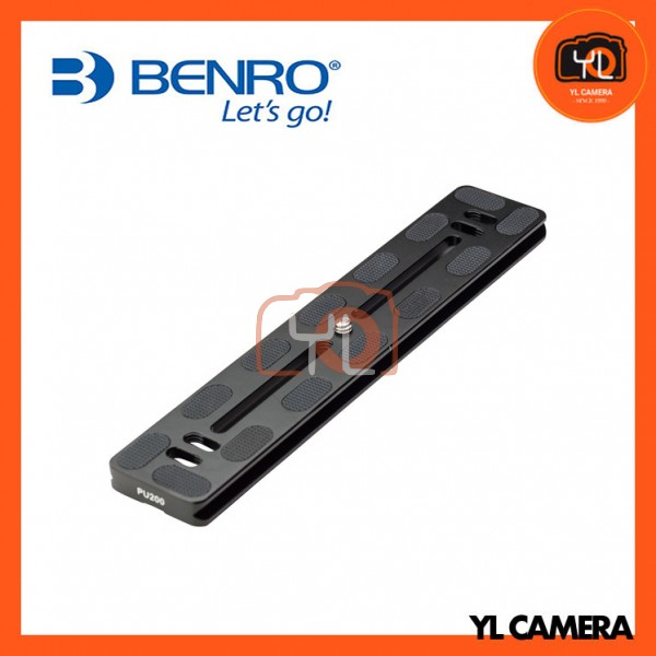 Benro PU-200 Long Lens Quick Release Plate