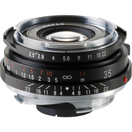 Voigtlander 35mm F2.5 Color-Skopar Lens (For Leica M-Mount)