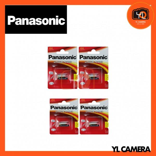 Panasonic CR2 Lithium Battery 4 Pack