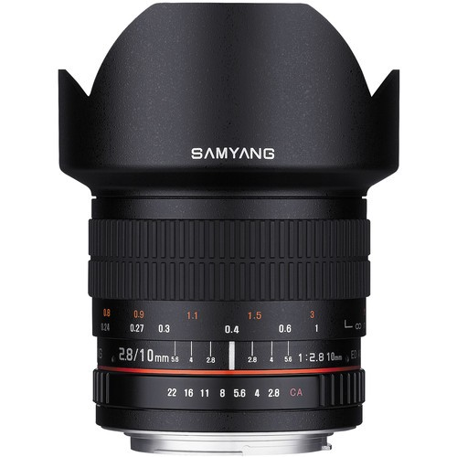 Samyang 10mm F2.8 ED AS NCS CS Lens for Nikon F Mount with AE Chip