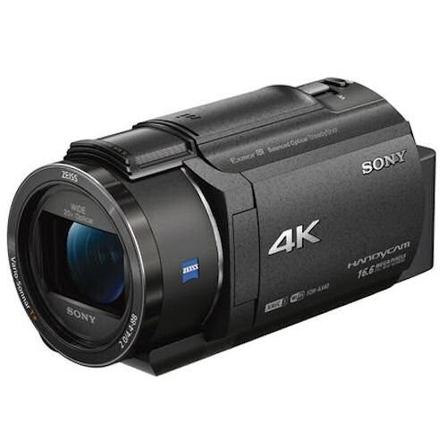 Sony FDR-AX40 4K Handycam (Free 64GB SD Card)