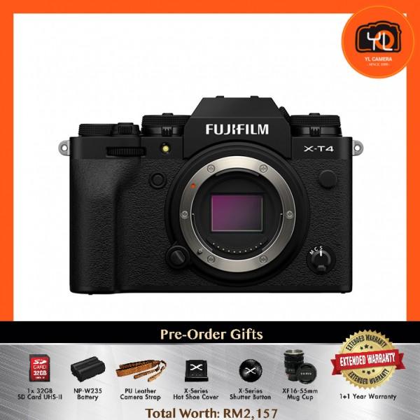 (Pre-Order) Fujifilm X-T4 - Black