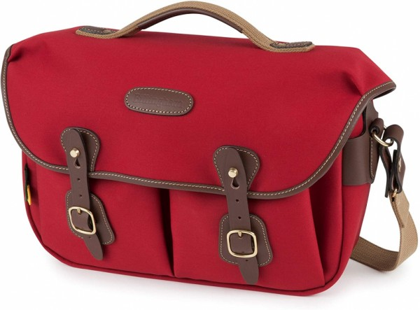 Billingham Hadley Pro 2020 Camera Shoulder Bag (Burgundy Canvas/Chocolate Leather)