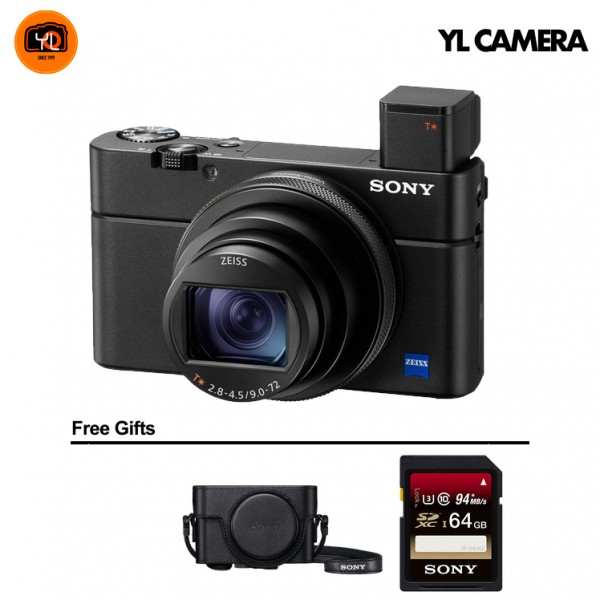 (PROMO) Sony RX100 Mark VII [Free 64GB SD Card + LCJ-RXF Case]