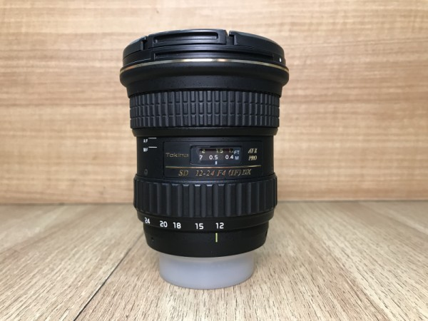 [USED @ YL LOW YAT]-Tokina 12-24mm F4 AT-X PRO DX Lens For Nikon,90% Condition Like New,S/N:71F3223