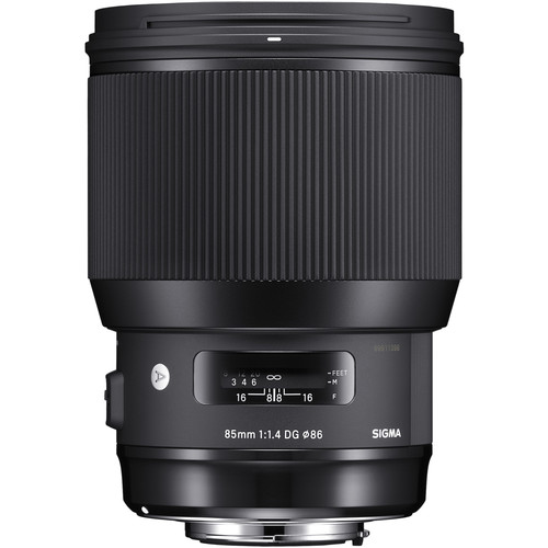 (Special Offer) Sigma 85mm F1.4 DG HSM Art Lens (Canon EF)