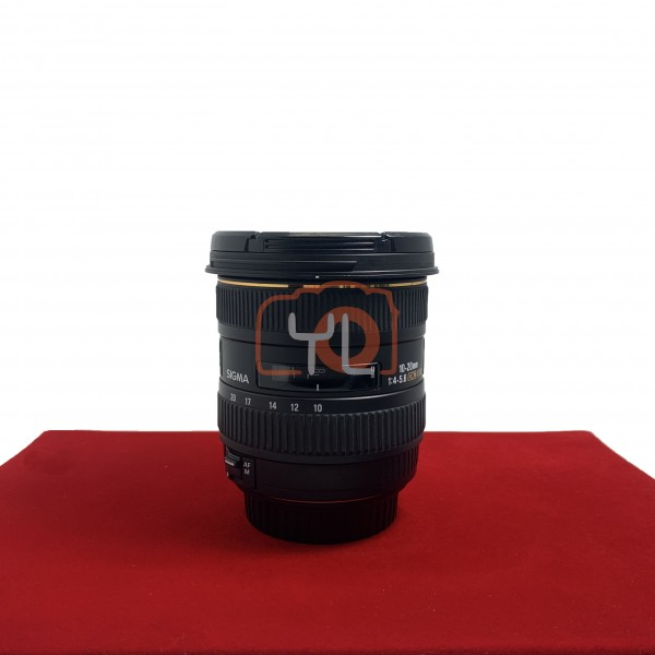 [USED-PJ33] Sigma 10-20MM F4-5.6 EX DC HSM (Canon) , 95% Like New Condition (S/N:11670874)
