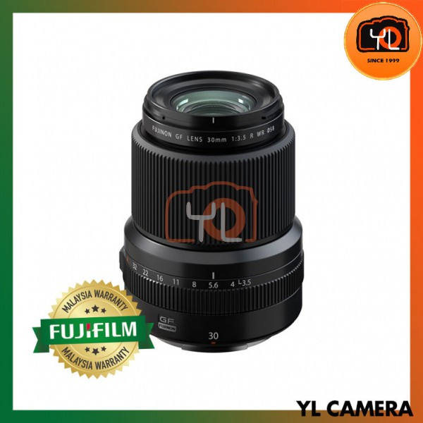 Fujifilm GF 30mm F3.5 R WR Lens