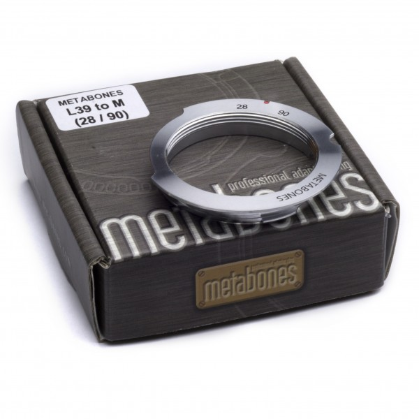 Metabones L39 Screw Mount to Leica M (28/90) with 6-bit Adapter