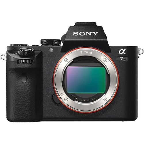 Sony a7 Mark II [Free 16GB SD Card + NP-FW50 + Peak Design Strap]