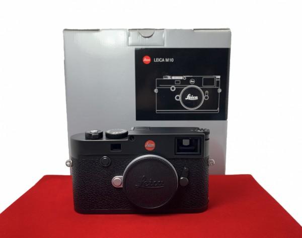 [USED-PJ33] Leica M10 Body (Black), 80% Like New Condition (S/N:5191293)