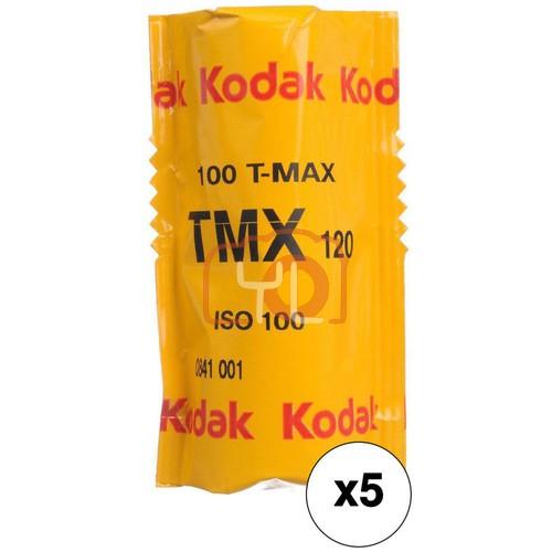 Kodak Professional T-Max 100 Black and White Negative Film (120 Roll Film, 15-Pack)