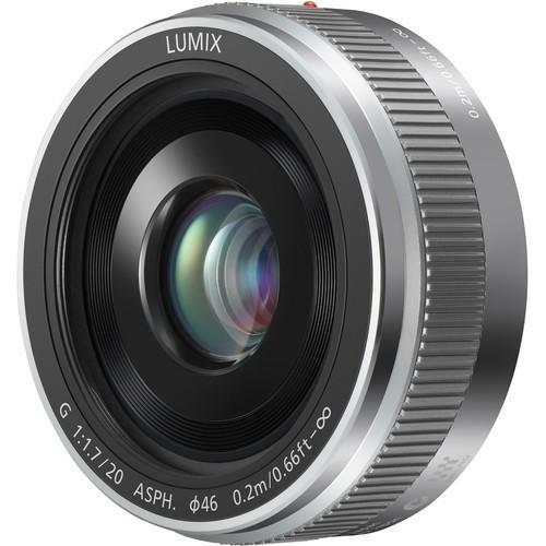 Panasonic 20mm F1.7 II LUMIX G ASPH. (H-020AE) – Silver