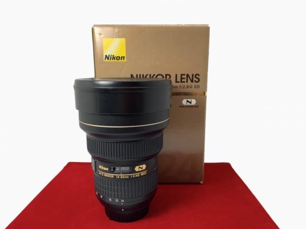 [USED-PJ33] Nikon 14-24mm F2.8G AFS ED Nano Lens, 90% Like New Condition (S/N:415145)