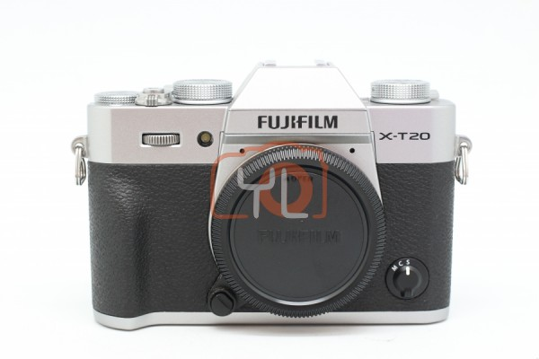 [USED-PUDU] FUJIFILM X-T20 (SILVER) CAMERA BODY 95%LIKE NEW CONDITION SN:7A005017