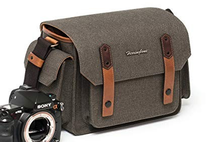 (SPECIAL DEAL) Herringbone Papas Pocket V3 Medium Camera Bag (Brown)