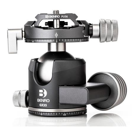 Benro GX35 Three Series Arca-Swiss Style Low Profile Aluminum Ballhead