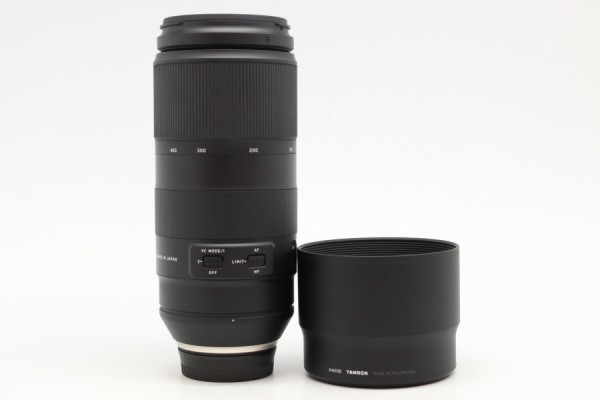 [USED-PUDU] TAMRON 100-400MM F4.5-6.3 Di VC USD FOR NIKON MOUNT 95%LIKE NEW CONDITION  SN:002940