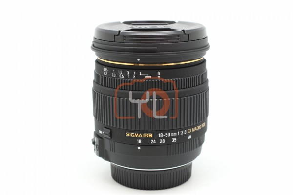 [USED-PUDU] Sigma 18-50MM F2.8 DC EX Macro HSM For Nikon 95%LIKE NEW CONDITION SN:11012037