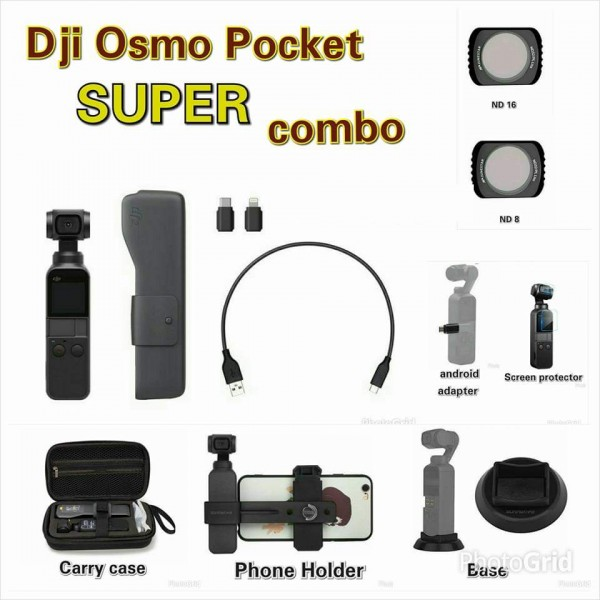 DJI Osmo Pocket SUPER Combo Set