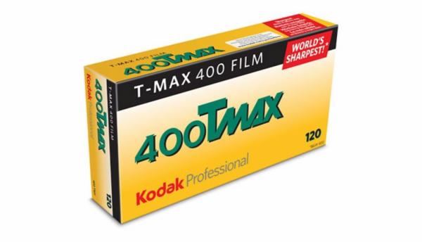 Kodak Professional T-Max 400 B&W Negative Film (120mm Roll Film, 5 Packs)