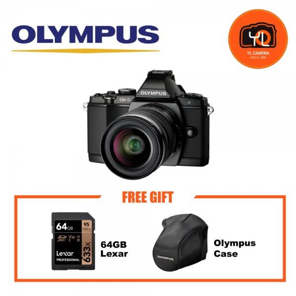 (Promotion) Olympus OM-D E-M5 + M. Zuiko 12-50mm F3.5-6.3 [Free CS-36FBC & 64GB SD Card]