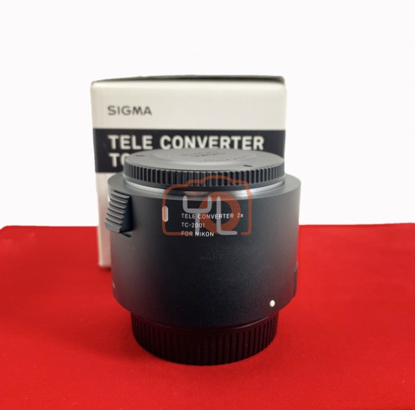 [USED-PJ33] Sigma TC-2001 2x Teleconverter (Nikon), 90% Like New Condition (S/N:50911552)