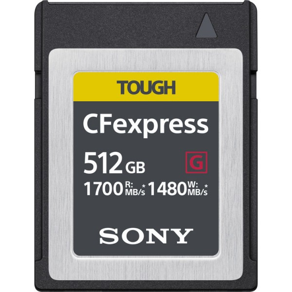 Sony 512GB CFExpress Tough Series Memory Card