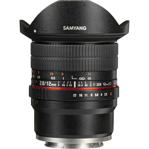 Samyang 12mm F2.8 ED AS NCS Fisheye Lens for Sony E Mount