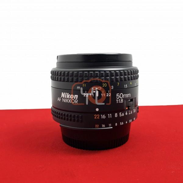 [USED-PJ33] Nikon 50mm F1.8 AF, 90% Like New Condition (S/N:4601390)