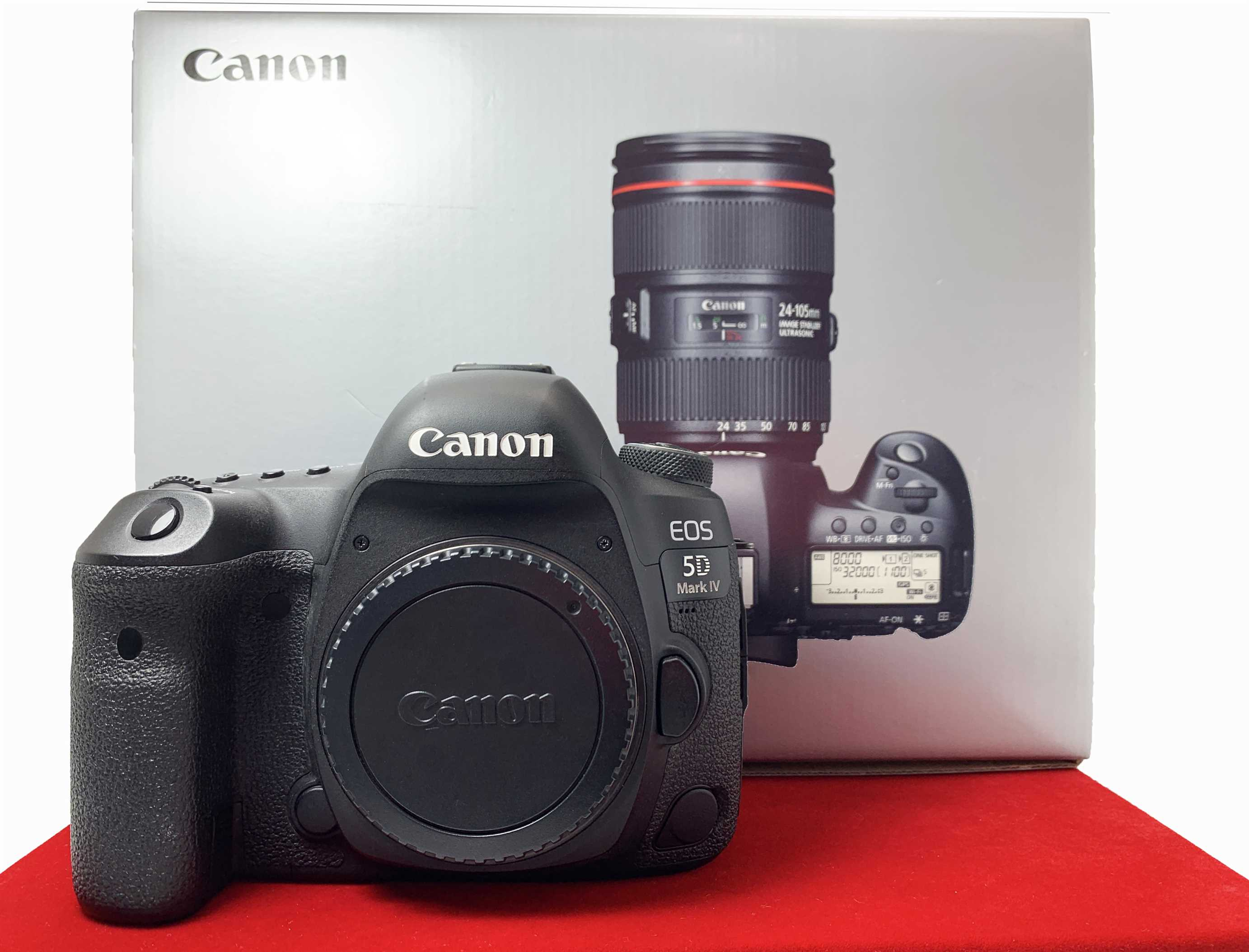 [USED-PJ33] Canon EOS 5D MARK IV Camera Body (SC:43K), 90% Like New Condition (S/N:078053004507)