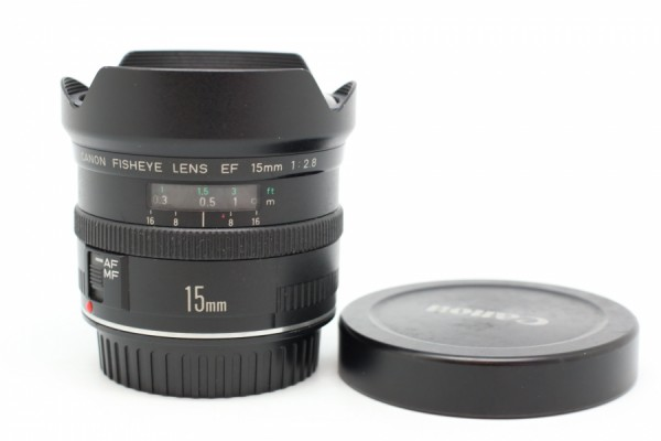 [USED] Canon 15MM F2.8 EF Fisheye 88%LIKE NEW CONDITION SN:86964