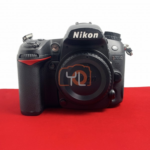 [USED-PJ33] Nikon D7000 Body, 85% Like New Condition (S/N:8002285)