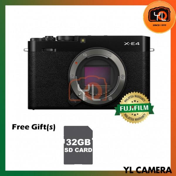 Fujifilm X-E4 - Black (Free 32GB SD Card)