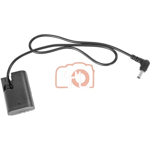 SmallRig 2.1mm DC Barrel to LP-E6 Dummy Battery Power Cable (23.6