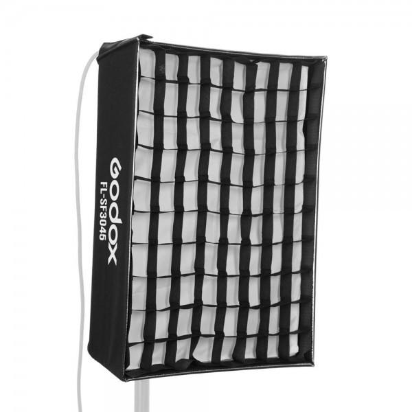 Godox FL-SF3045 Softbox Kit with Honeycomb Grid Soft Cloth Carry Bag for Godox FL60 Flexible LED Light