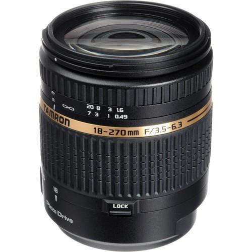 Tamron 18-270mm F/3.5-6.3 Di II PZD Lens Sony A
