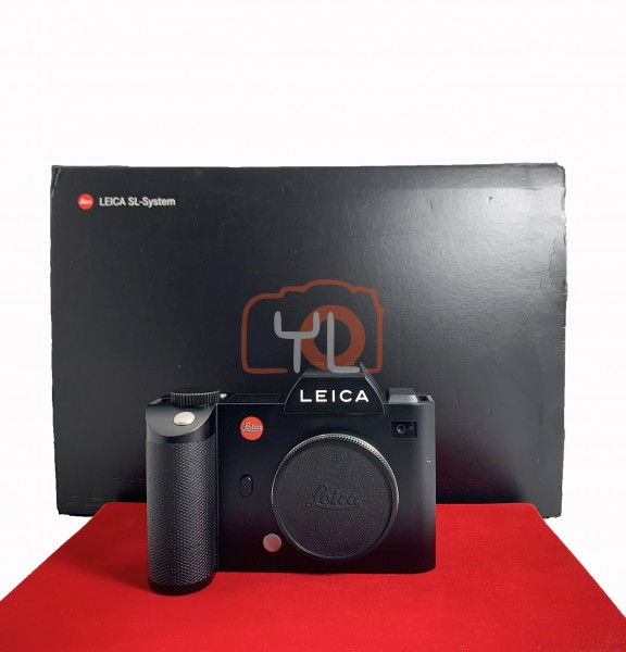[USED-PJ33] Leica SL Camera Body, 90% Like New Condition (S/N:4968610)