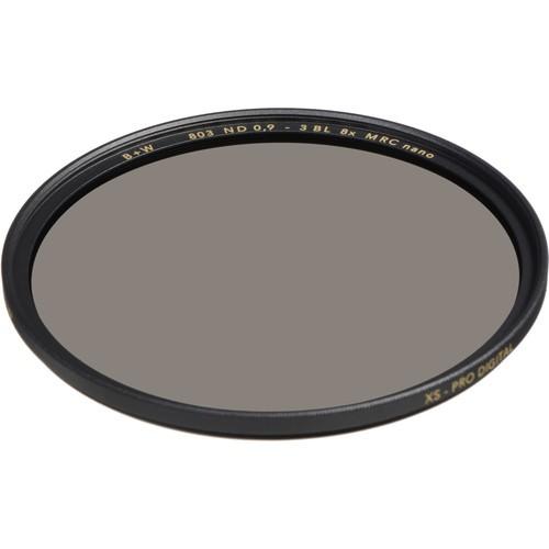 B+W 37mm XS-Pro MRC-Nano 803 ND 0.9 Filter (3-Stop)