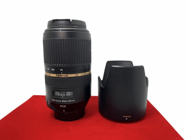 [USED-PJ33] Tamron 70-300MM F4-5.6 SP DI VC USD (Nikon), 95% Like New Condition (S/N:006073)