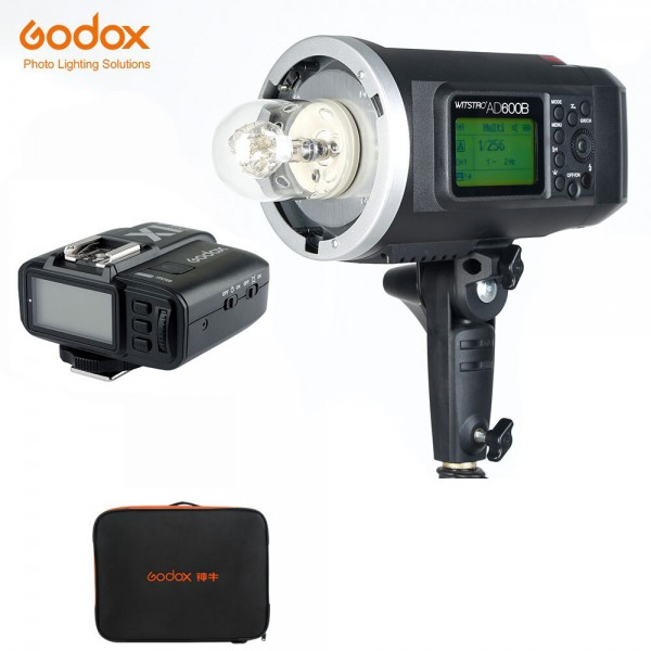 Godox AD600B TTL All-In-One Outdoor Flash X1T-O Fro Olympus/Panasonic 1 Light Combo Bag Set