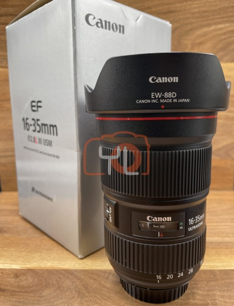 [USED @ YL LOW YAT]-Canon EF 16-35mm F2.8 L III USM Lens,95% Condition Like New,S/N:5830000490