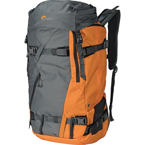 Lowepro Powder Backpack 500 AW (Gray and Orange)
