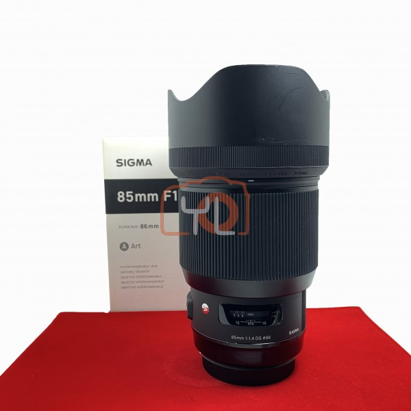 [USED-PJ33] Sigma 85mm F1.4 ART DG HSM, (Canon) 95% Like New Condition (S/N:52403038)