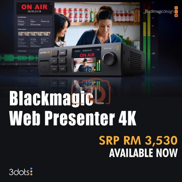 Blackmagic Design Web Presenter 4K